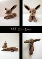 Mini Eevee plush by nfasel