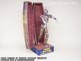 Halloween 2013 papercraft Tomb Raider 4 Mummy by ninjatoespapercraft