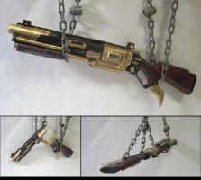 1:6 scale Sledge's Shotgun by JNorad