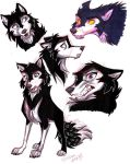 Voltron-Wolf Keith sketches by Stray-Sketches