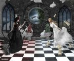 Chess queens/Let's see who will win by MASkArts