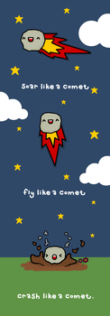 i'm just a comet by sooperdave