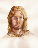 Portrait of Faramir by Ombre-Lumineuse