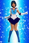Sailor Mercury Then by Princessdawn3D