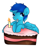 Happy Birthday .:Commission Czair:. by Ambercatlucky2