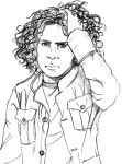 Ray Toro_realistic portrait by Dietlinde