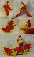 Kazooie plush by SmellenJR