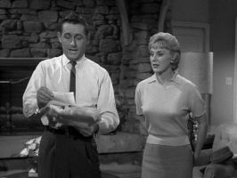 Alan Young and Connie Hines on 'mr. ed' by slr1238