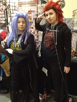 Axel and Saix Anime Boston 2012 by DantesTobari
