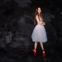 Red Shoes by DominaWhite