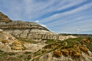 Drumheller Badlands by pullingcandy