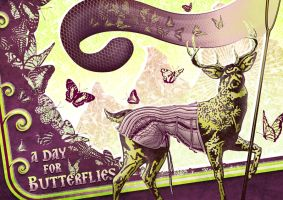 A Day for Butterflies by panvix