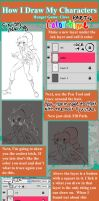 How I Draw My Characters: Part 4 by Free-man12