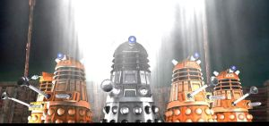 the daleks of Garry's mod by NestieBot