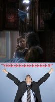 My Reaction to Rumplestltskin Catching Belle by InkStainedHands518