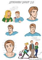 Avengers Dump 10 by LauraDoodles