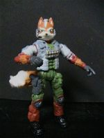 Star Fox Action Figure by DaveSchultz