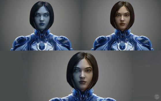 Human Cortana Breakdown by halo4guest