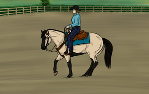 Trainin Show Entry for Cariannarz ll by TimberlakeLaneEC