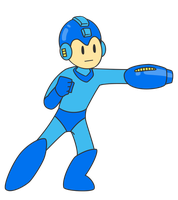 Megaman Vector by pikmin789