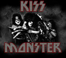 Custom Album Cover: KISS - Monster by rubenick