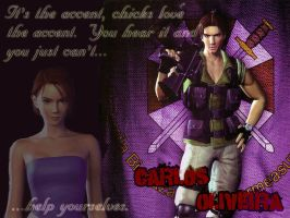 RE3 It's the accent... by k0nfuwzdxkikai