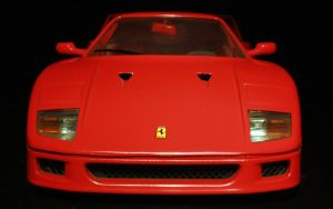Ferrari F40 Front by spunkyreal