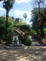 a view-taormina sicily by girl-painter