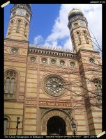 The Great Synagogue, Budapest by Adida007