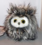 Fuzzy owl by demiveemon