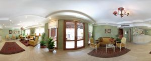 Artefes Hotel Lobby Panoramic by cmgllp