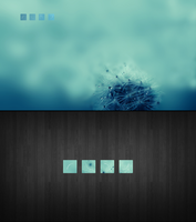 project conky squares by LovelyBacon