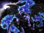 Nightmare Moon by Lady-Was-Taken