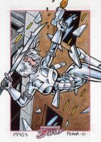 Silver Sable Dangerous Divas by tonyperna