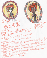 Jack O'Lantern portrait profile by Zikka