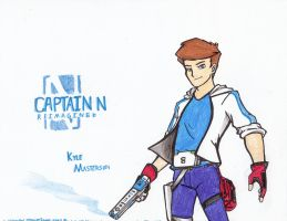 Captain N RE. - Kyle Masterson by WMDiscovery93