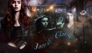Jace and Clary by VaL-DeViAnT