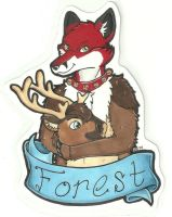 Forest 'headless' badge by dragonmelde