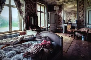 I, in the empty house by amiejo