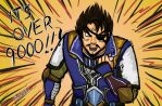 Xiahou Vegeta by serpentdoness