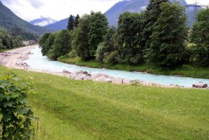 Isar 2010 in Mittenwald by Wizzard1990