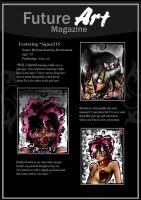 Featured Artist: Squee215 by Future-Art-Magazine