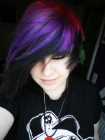 dyed my hair by KateTale
