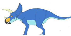 Triceratops-ness by TroyandFriends