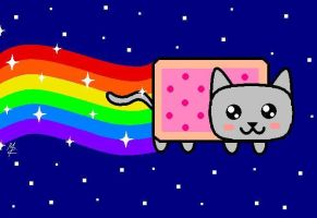 Nyan Cat by MelisaRodriguez