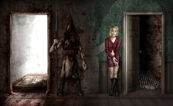 10 Years of Silent Hill 2 by ZerachielAmora