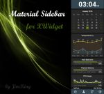 Material Sidebar for xwidget by jimking