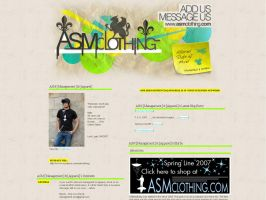 +ASM Clothing+ MySpace layout by ribcages