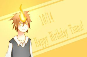 Happy Birthday Tsuna! by PineNAPPO