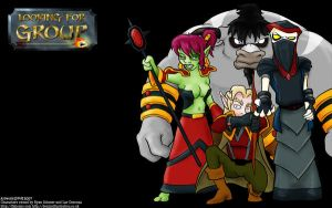 Looking For Group wallpaper by devillo